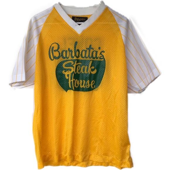 Swingster Other - Vtg. Barbata's Steak House baseball shirt